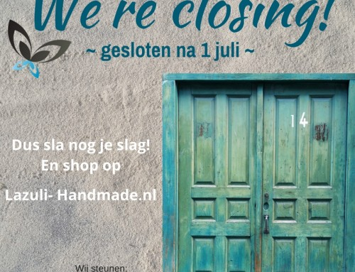We're closing!